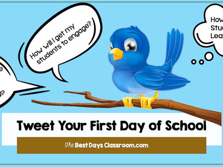 A New Way to Tweet Their First Day of  School
