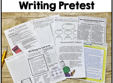 Start Your Year With a Writing Pretest