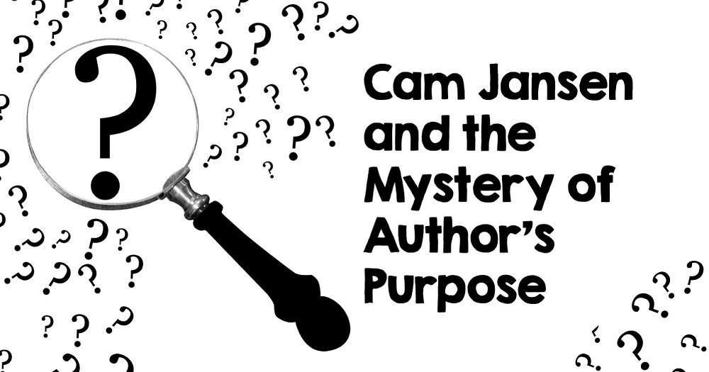 Cam Jansen and the Mystery of Author's Purpose Header
