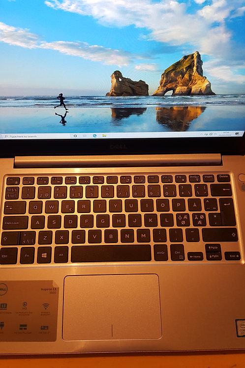 Dell Inspiron 13 5000 Core i5 8th gen 8GB 320gb SSD Win 10 MS Office HDMI