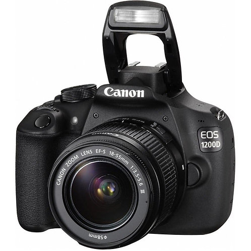CANON EOS 1200D DSLR Camera with 18-55 mm f/3.5-5.
