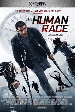 The Human Race featuring Eddie McGee on the front cover