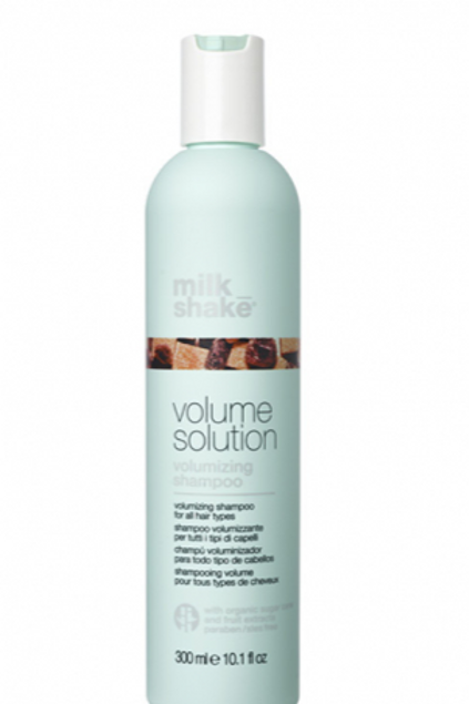 Volume solution volumizing shampoo