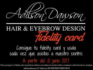 FIDELITY CARD ADILDON DAWSON