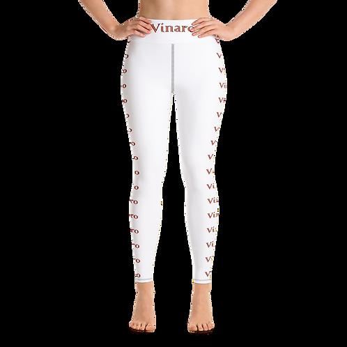 Vinaro Women Yoga Leggings White