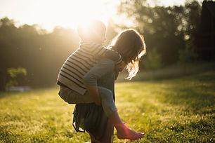 Glade børn leget