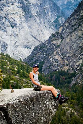 Kiri in Yosemite National Park, Yosemite