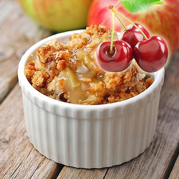 Cherry Apple Crisp