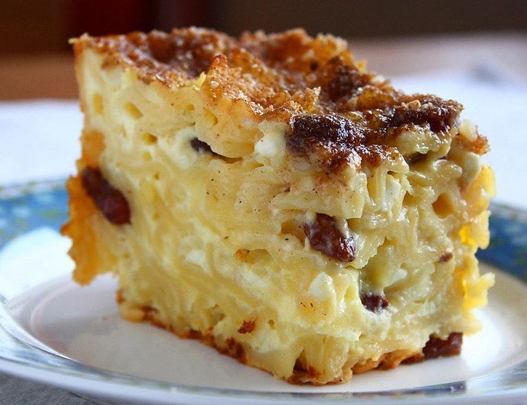 Sweet Noodle & Cheese Kugel