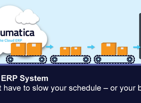 Acumatica Cloud ERP for Distribution and Manufacturing