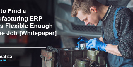 Find a Manufacturing ERP That's Flexible Enough for the Job