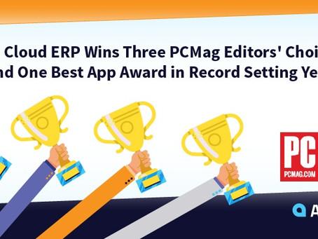 Acumatica Cloud ERP Wins Three PCMag Editors' Choice Awards!