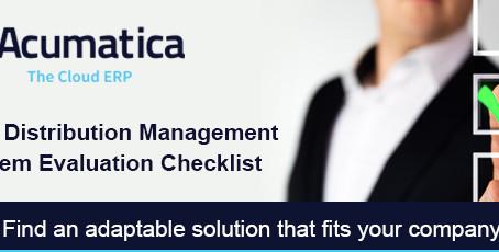 Distribution Management System Evaluation Checklist