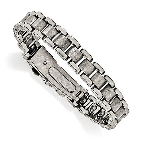 Tungsten Polished and Matte Bracelet