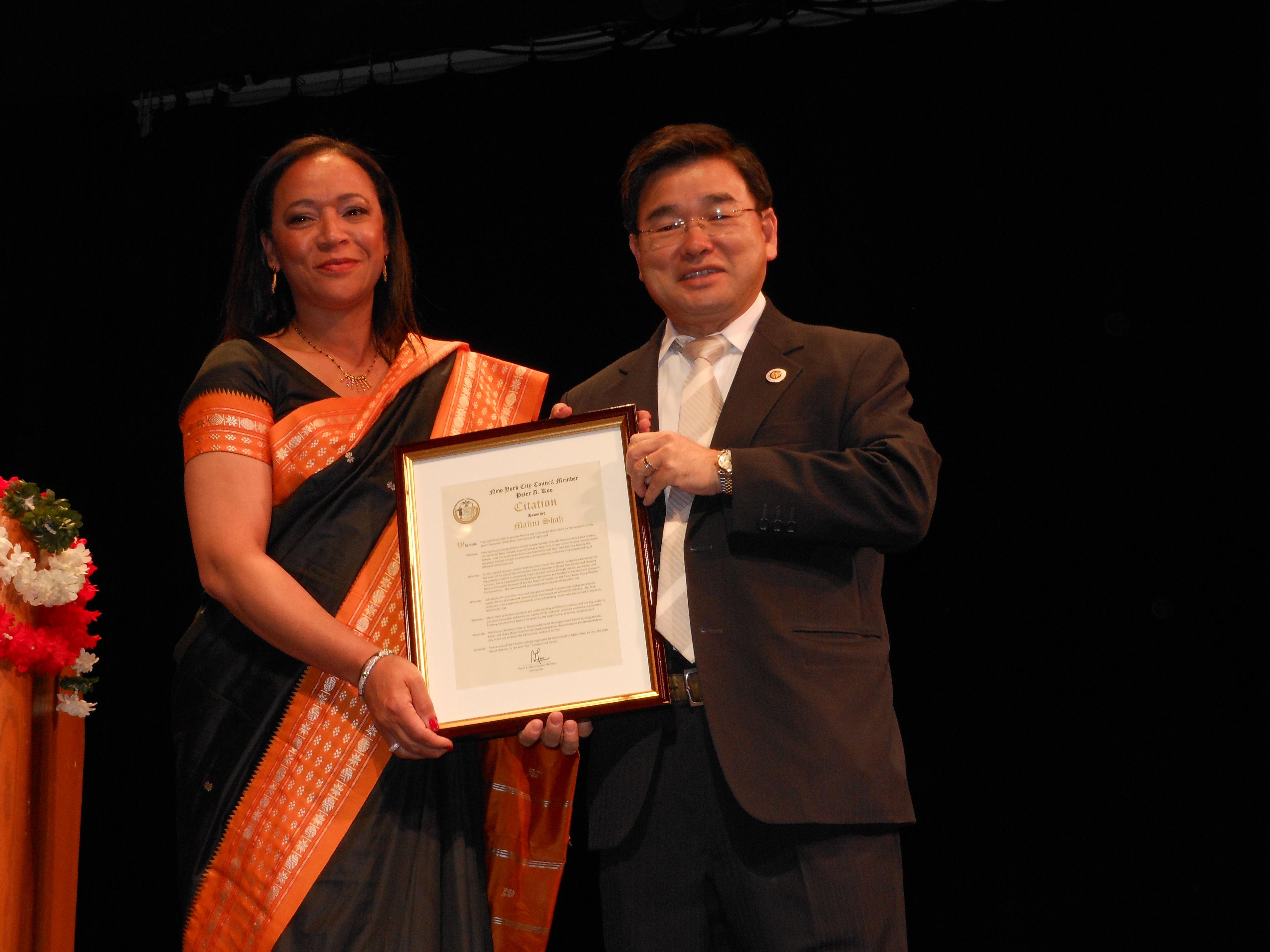 Citation from City Councilmember Peter Koo.jpg