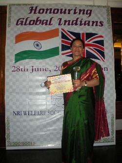 Hind Rattan Award, London
