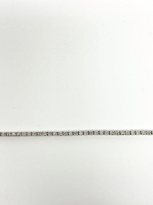 DIFFBC100-W1Z ,Diamond Bracelet