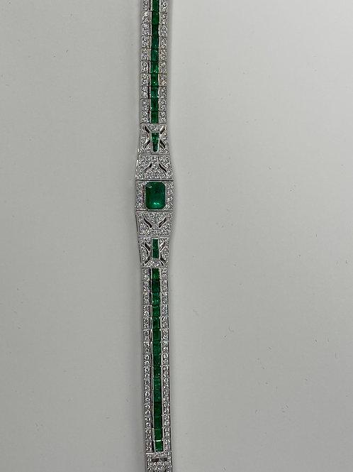 DIFFGFBC0000286,18K Diamond Bracelet