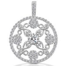 14kGold Diamond  Circle pendant, call for Pricing