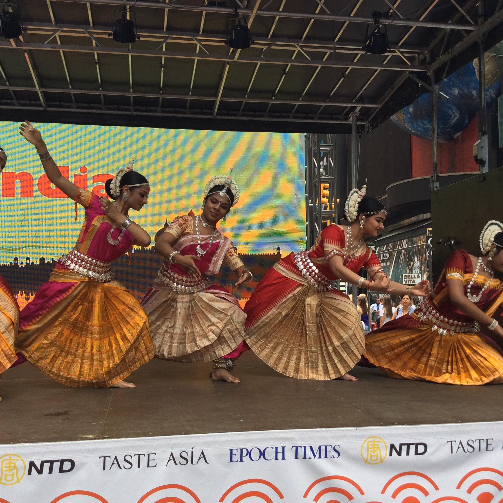 Performers at Taste Asia