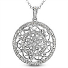 14kGold Diamond  Circle pendant,call for Pricing.