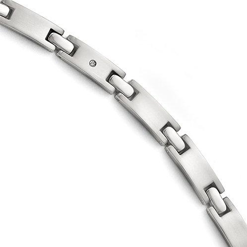 Titanium Brushed and Polished Bracelet