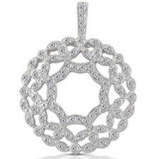 14kGold Diamond  Circle pendant,call for Pricing
