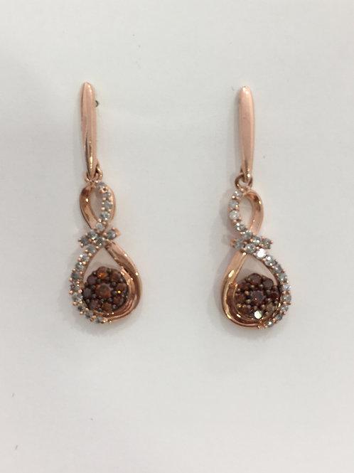 10'k Rose Gold Earring