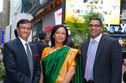 With Consular General of India