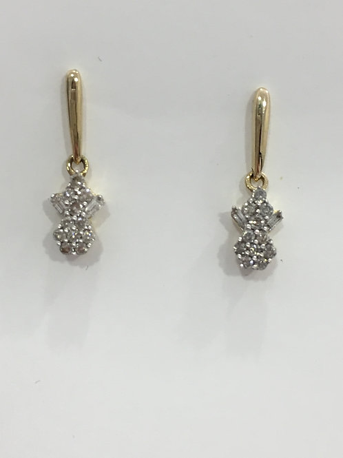 10'k Yellow Gold  Earring