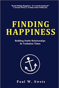 Finding Happiness book cover