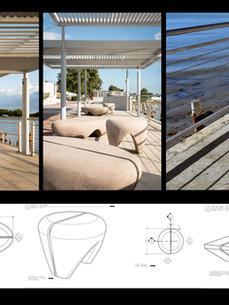 Urban furniture designed by ERBa