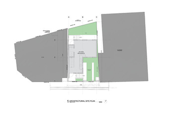 Site plan of module 1