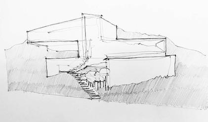 Sketch by Arch. Hernández