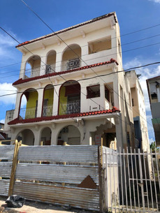 Main facade: existing conditions
