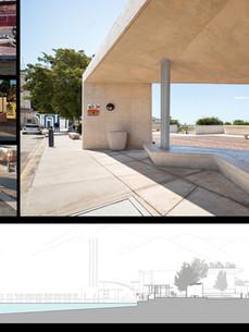 Main picture:  Future Train Station