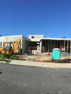 Front Elevation under Construction
