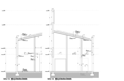 Wall Sections 13 & 14