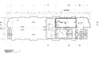Roof top level Floor Plan