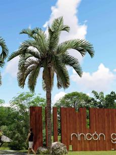 Rincón Gardens's entrance