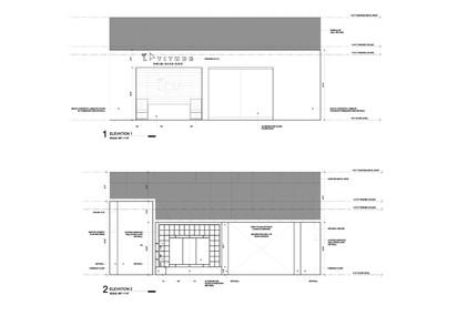 Interior Elevations 1 & 2