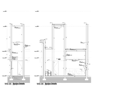 Wall Sections 05 & 06