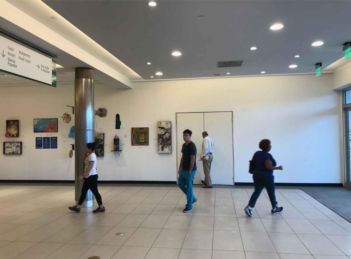 Mall adjacent corridor