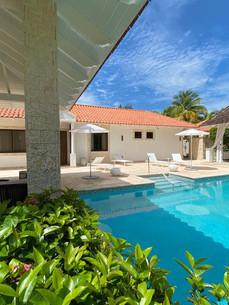 Presidential Villa: Pool Area