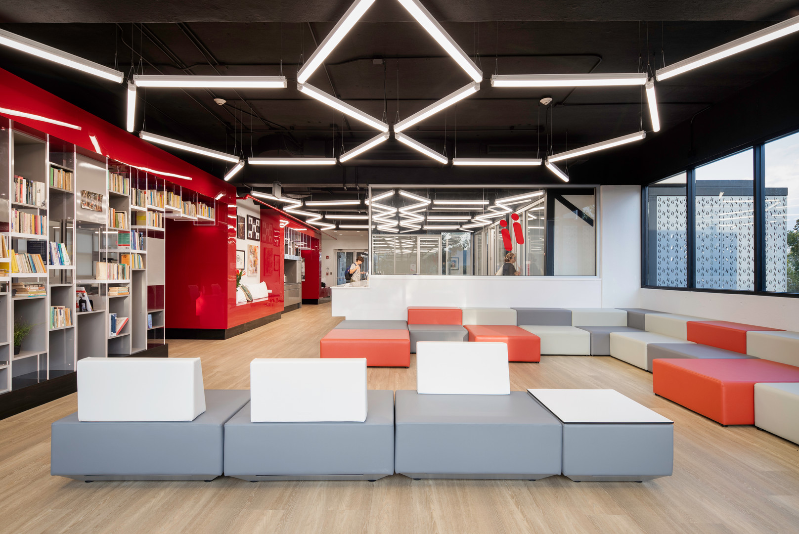Conversation / Study Lounge and Multipurpose Space