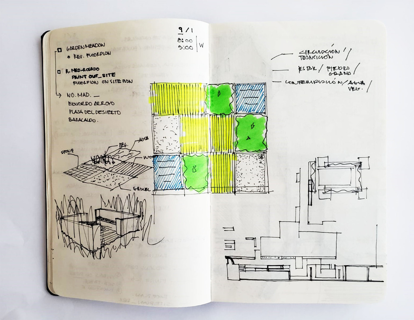 Sketch by Arq. Gómez