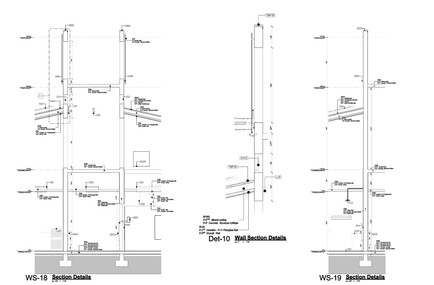 Wall Sections 18 & 19