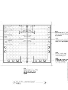 Pre-function Restroom by HBA Miami