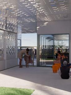 Exterior Foyer