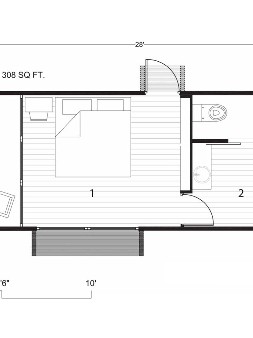 Eco-villa: Module 1